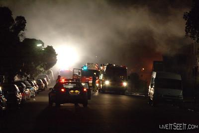 Fire - Marrickville Factory Jan 2009