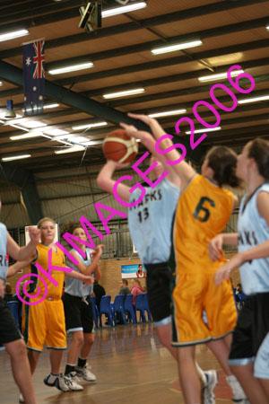 Semi Final U14 W1 Comets Vs Sutherland 30-7-06