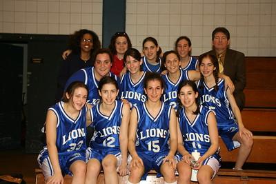 Yeshiva Atlanta Lady Lions - Florida 2006