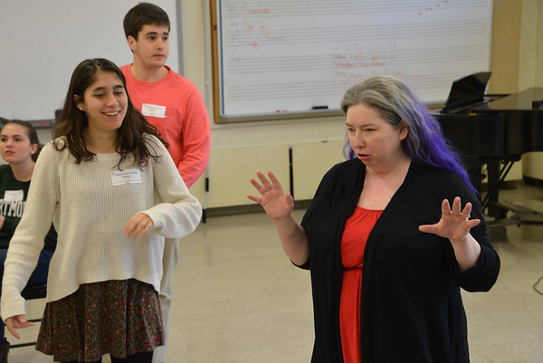 Molly Chodakewitz '11 Visits GA's Improv Class