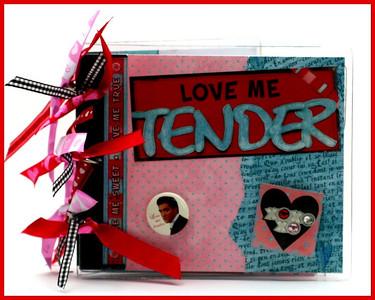 Love Me Tender Acrylic Album
