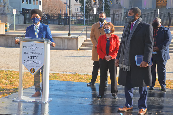 December 10, 2020 - 73rd Inauguration of the Baltimore City Council
