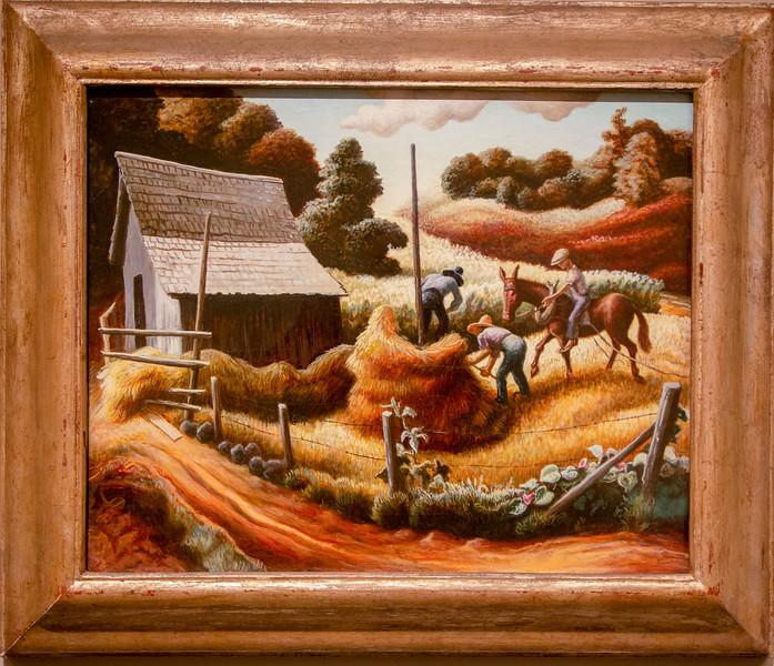Thomas Hart Benton: Haystack