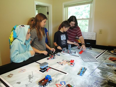 FLL 2013 Fiona Table Building