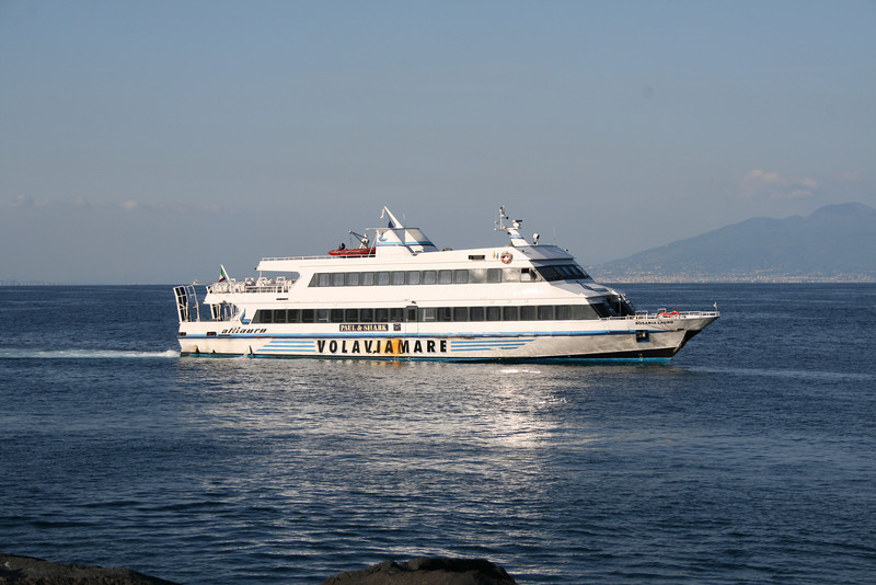 2008 - ROSARIA LAURO arriving to Capri.