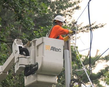 Baltimore MD Storm Restoration 7/1 thru 7/8 2012