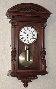VR-282 - Very unusual Dwarf Vienna Regulator timepiece by A. Maur, Linz.