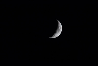 Eclipse and Moon
