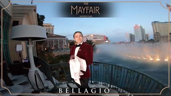 The Mayfair Supper Club - 360 Revolve - Jan 18th 2020