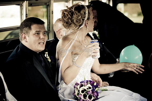 Bus Ride - Jill and Travis