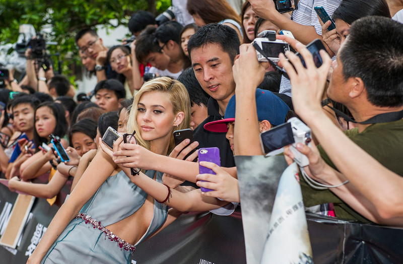 """. Nicola Peltz arrives at the worldwide premiere screening of \""""Transformers: Age of Extinction\""""at the  on June 19, 2014 in Hong Kong, Hong Kong.  (Photo by Xaume OllerosGetty Images for Paramount)"""