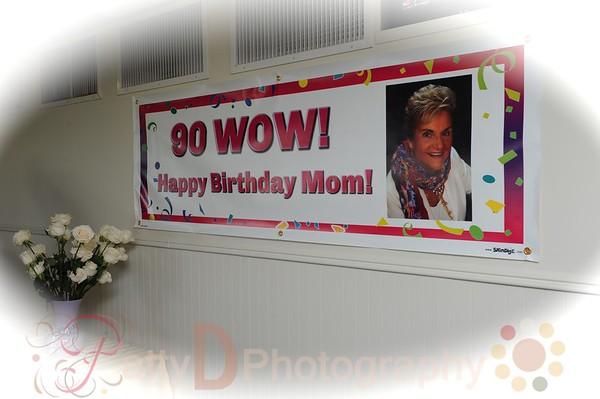 2013-09-21 Mom's 90th