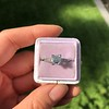 1.19ct Art Deco Carre Cut Diamond Solitaire 25