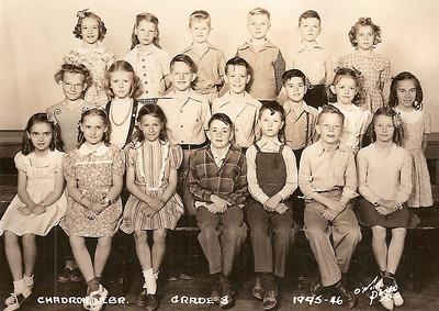 1945 - 46  ◇  East Ward 3rd Grade