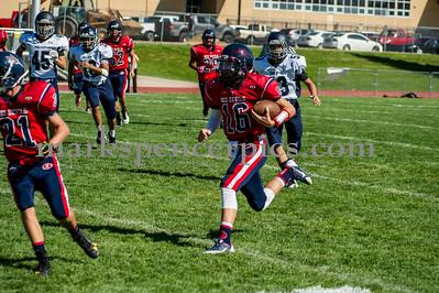 Football Soph SHS vs Corner Canyon 8-30-2014