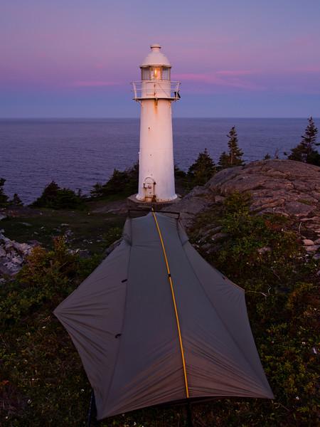 Bay Bulls Lighthouse at Sunset