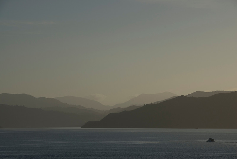 Fishing Boat in Queen Charlotte Sound
