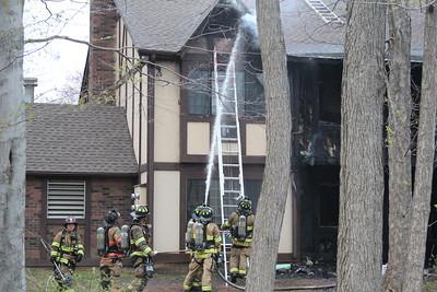 2 Alarm Condo Fire- 315 Foxwood Ln, Milford, CT - 4/17/2021