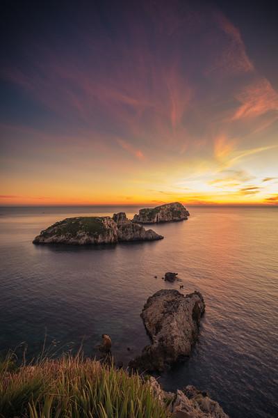 Es Malgrats after sunset