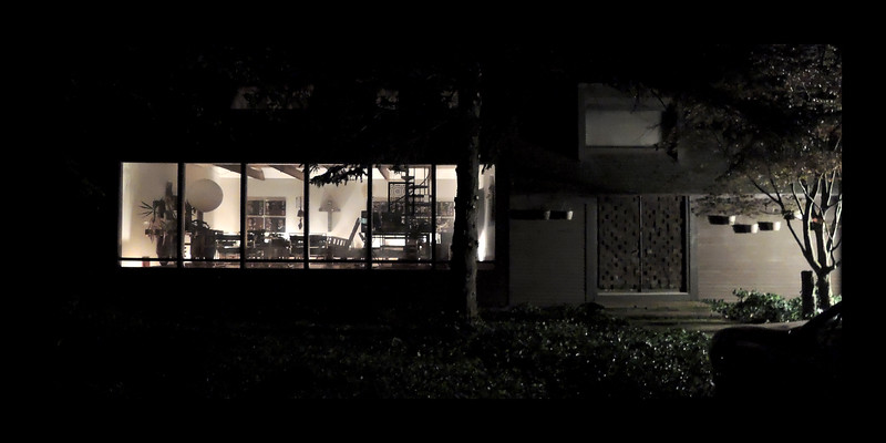 57. Cambridge Drive Night View of Studio and Entry.JPG