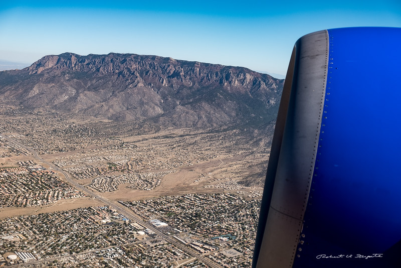 Sandia Mountains and NE Heights, Albuquerque, NM