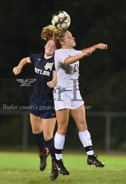 46717 Butler vs Pine-Richland girls soccer at Butler intermediate high school field