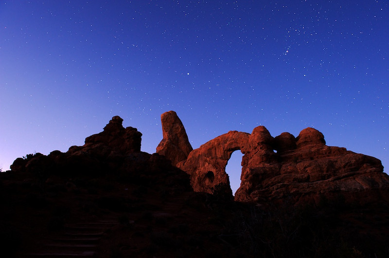 Turret Arch at Sunrise