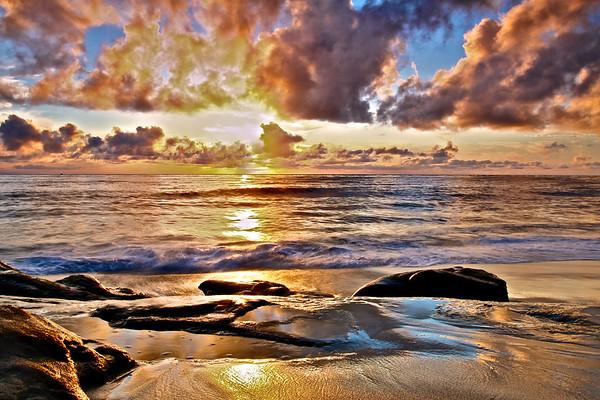Violet Sunset at Windansea