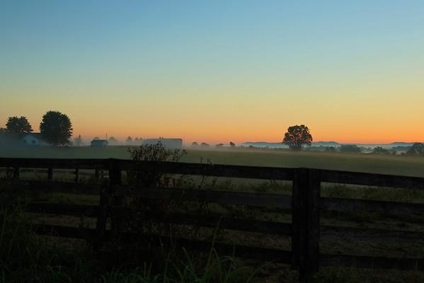 Kentucky Morning (x100s & 5DMIII)