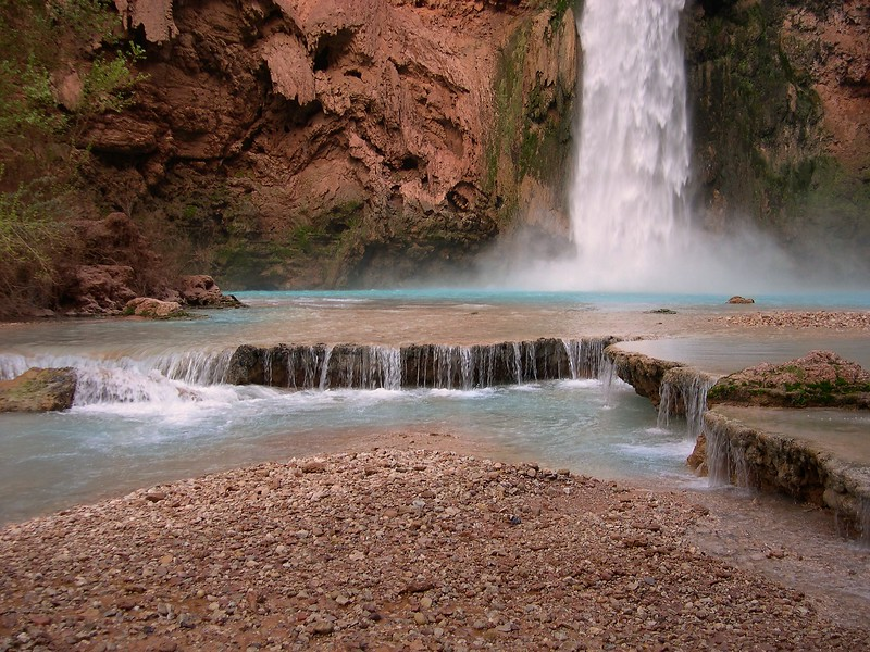 (2004-March 7-9) Hualapi Hilltop to the Colorado River.  Havasupai Indian Reservation/Grand Canyon National Park, Arizona.