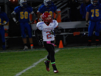 Football vs. Clearview (10/25/2013)