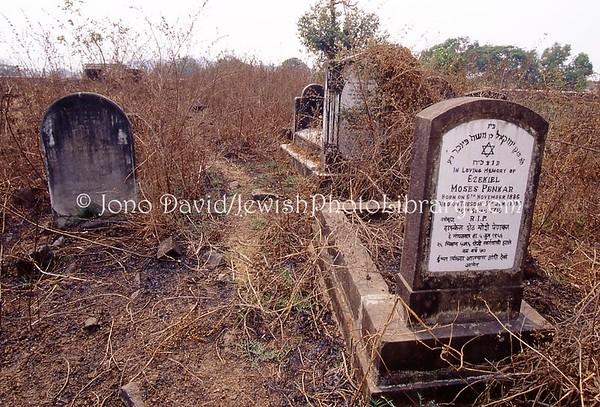 INDIA, Pen (Konkan Region, Maharashtra). Jewish Cemetery. (2009)
