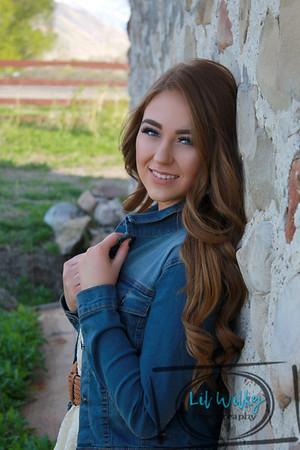Katelyn {Senior Pics April 2017}