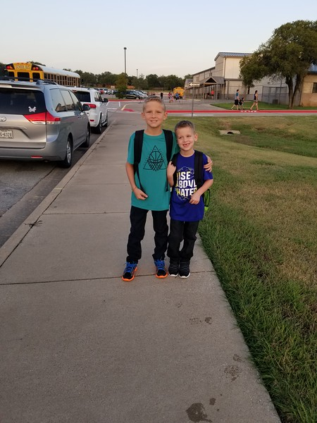 James and Jax | 1st and 4th | CC Mason Elementary School