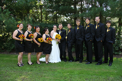 Group Pictures after Wedding