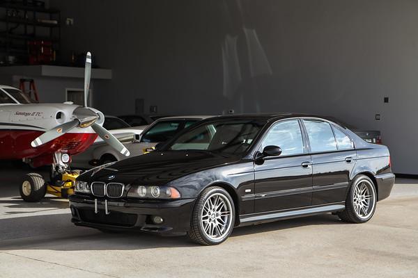 2002 BMW M5 Jet Black