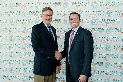 Max Planck visit with Congressman Patrick Murphy