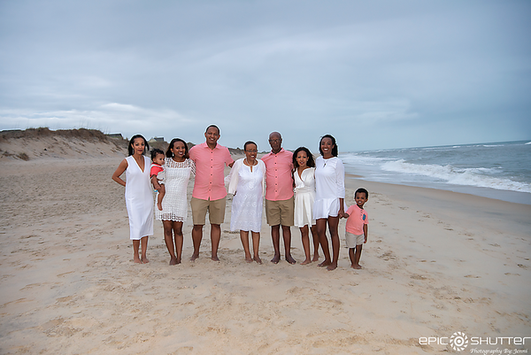 Avon Fishing Pier, Family Portraits, Epic Shutter Photography, Hatteras Island Family Photographers, Outer Banks Family Photographers