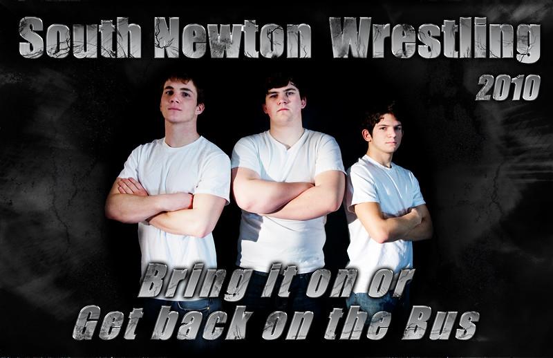 SNHS Wrestling Team 2009
