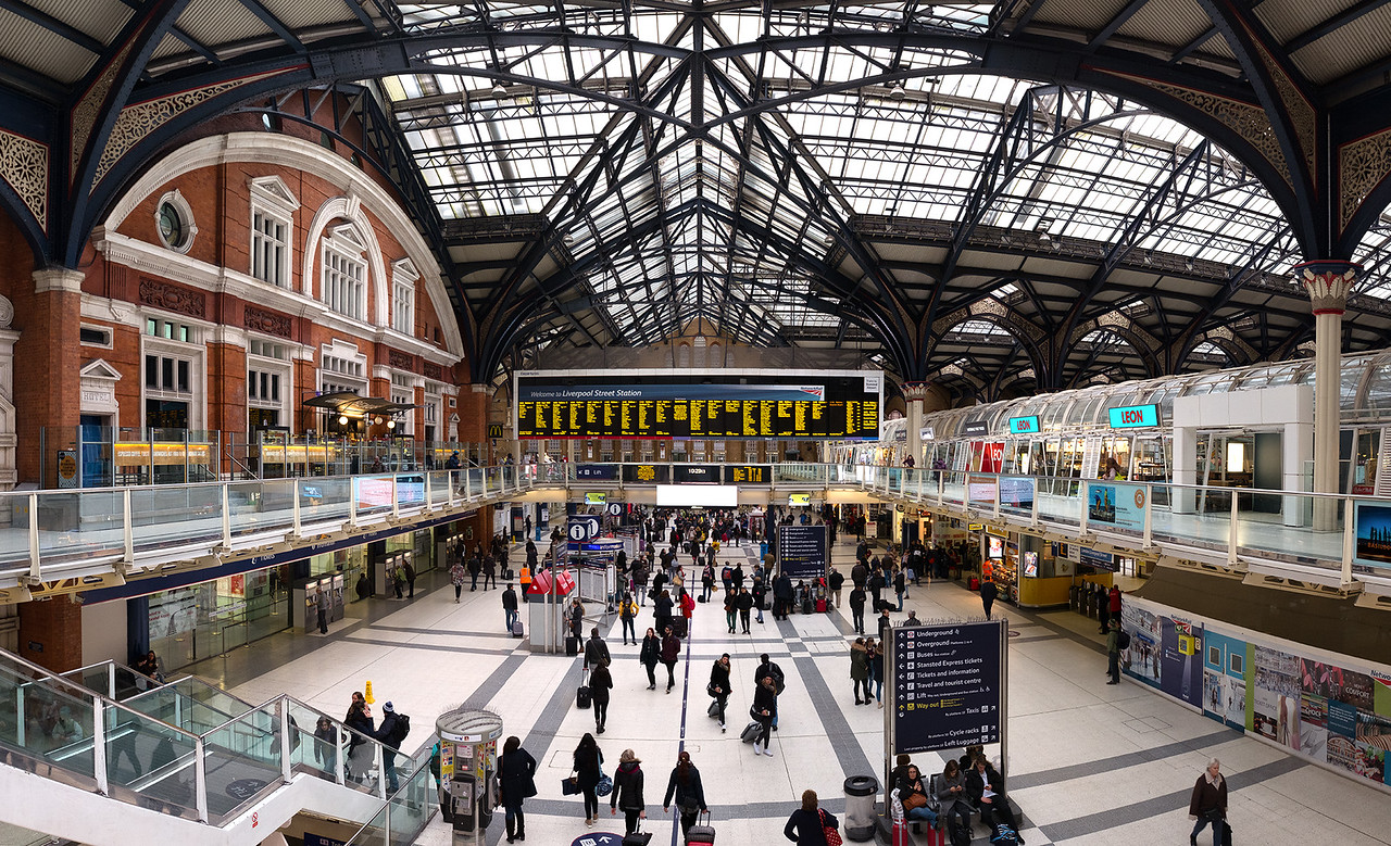 Liverpool Street Station - Exploring London Monopoly!