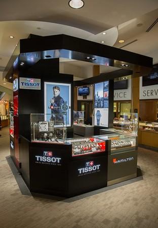 TISSOT, Tourneau Time Machine, NYC