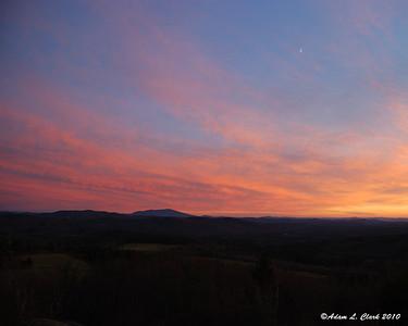 Pitcher Mtn Sunset 11-10-10
