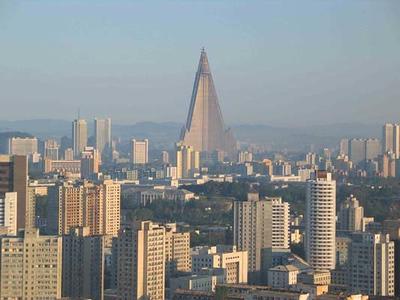 Ryugyong Hotel in Pyongyang, N. Korea-NOT MINE