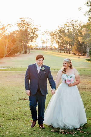NICK & RHIANNON // TOOWOOMBA GOLF COURSE