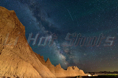 2015-07-14 Badlands South Dakota Milky Way