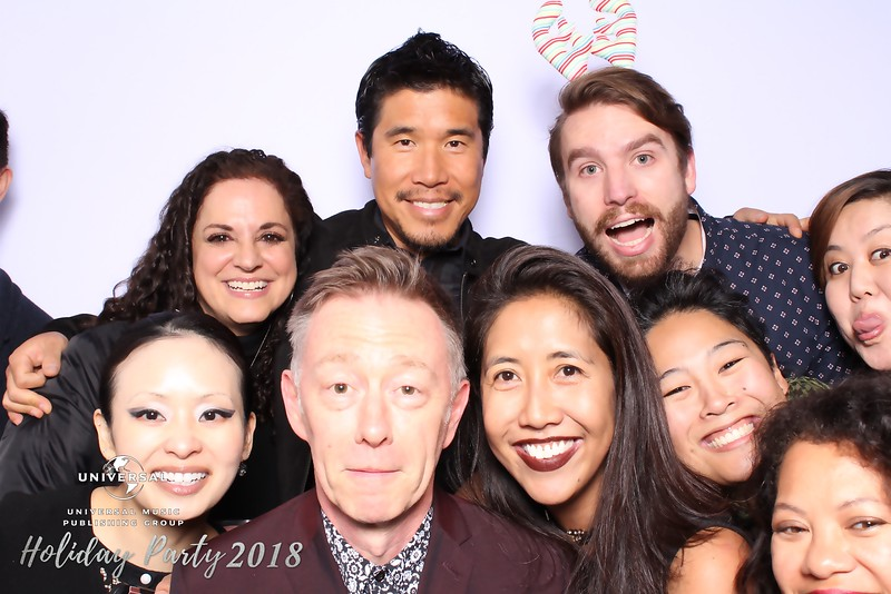 Universal Music Publishing Holiday Party 2018 (SkinGlow Booth)