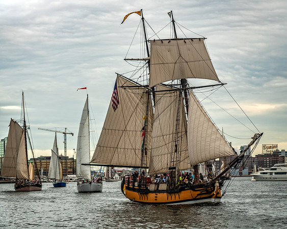 2018 Parade of Sail for the Great Chesapeake Bay Schooner Race