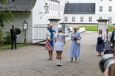 2019-07-21 Gråsten ringridderoptog ved Slottet