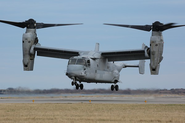 "US Marine Corps MV-22B ""Osprey"", Norfolk, 15Feb18"