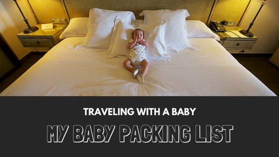 my baby packing list